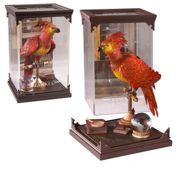 Harry Potter Magical Creatures Fawkes Sculpture