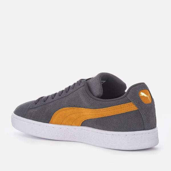 3bf7a3bd95d787 Puma Men s Suede Classic Trainers - Iron Gate Buckthorn Brown Puma White   Image