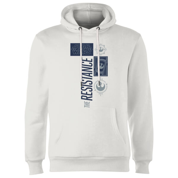 Star Wars The Resistance White Hoodie - White