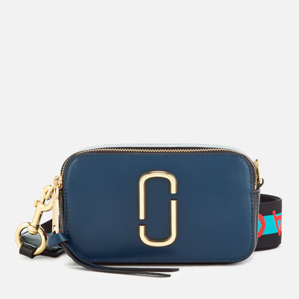 Marc Jacobs Women's Snapshot Cross Body Bag - Blue Sea Multi