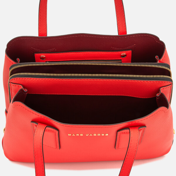 Marc Jacobs Women S The Editor Tote Bag Poppy Red Image 5