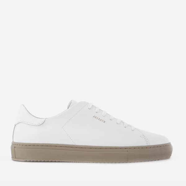 Axel Arigato Men's Clean 90 Leather Trainers - White/Grey Sole