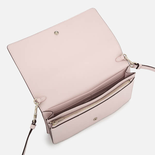 Coach Women's Foldover Cross Body Bag - Ice Pink: Image 41
