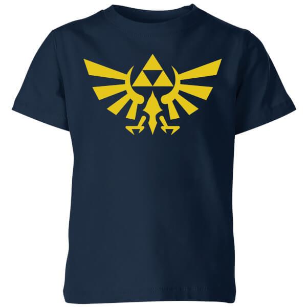 Nintendo The Legend Of Zelda Hyrule Kids' T-Shirt - Navy