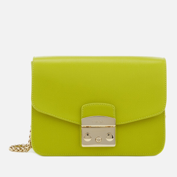 Furla Women s Metropolis Small Cross Body Bag - Green - Free UK ... 8c97d6a0a6fe