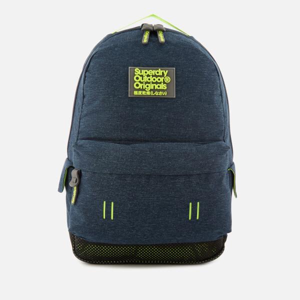 Superdry Men s Webster Montana Backpack - Blue Marl  Image 1 ca913a5f2f485