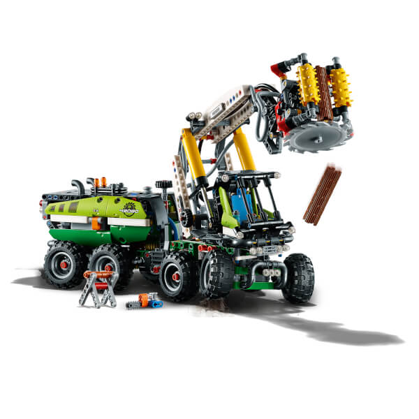 lego technic with power functions forest machine 42080. Black Bedroom Furniture Sets. Home Design Ideas
