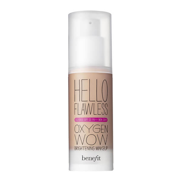 benefit Hello Flawless Oxygen Wow Liquid Foundation 30ml (Various Shades)