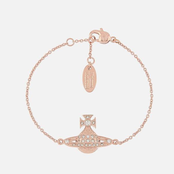 Vivienne Westwood Women's Mini Bas Relief Bracelet - Pink Gold