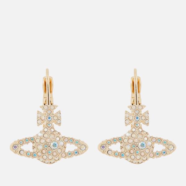 Vivienne Westwood Women's Grace Bas Relief Earrings - Gold