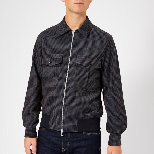PS Paul Smith Men's Bomber Jacket - Indigo