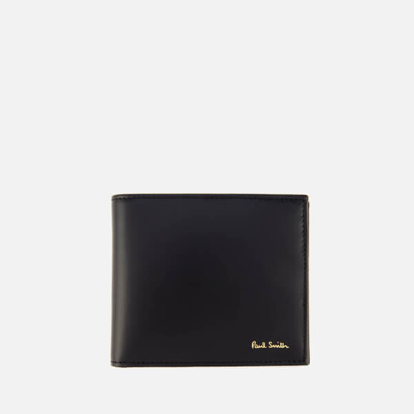 Paul Smith Men's Stripe Billfold Wallet - Black