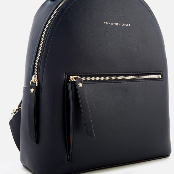 e105a0d5e86 Tommy Hilfiger Women's Iconic Tommy Backpack - Navy: Image 4