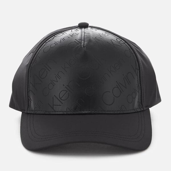 9e0597a94f18f Calvin Klein Women s Metallic Baseball Cap - Black  Image 1