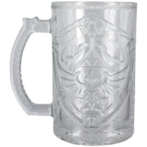 The Legend of Zelda Shield Glass