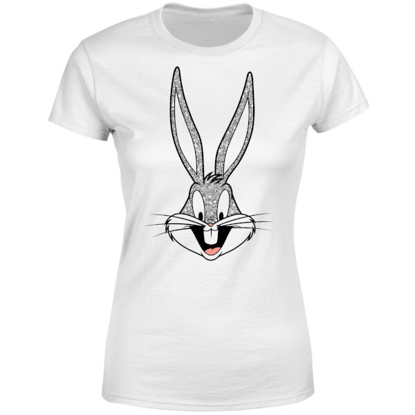Looney Tunes Bugs Bunny Women's T-Shirt - White