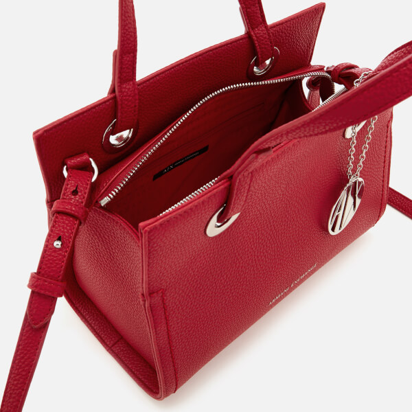 4a552a79d061 Armani Exchange Women s Small Shopper With Cross Body Bag - Royal Red   Image 4