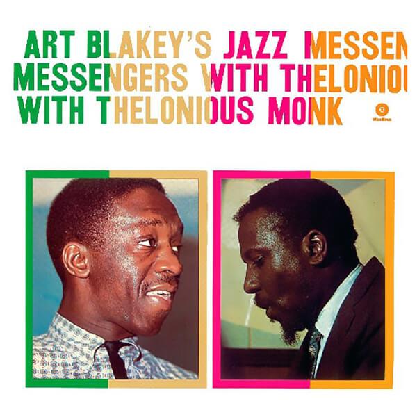 Art Blakeys Jazz Messengers With Thelonious Monk Vinyl