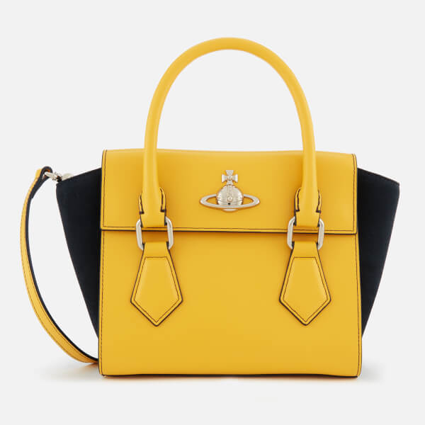 Vivienne Westwood Women's Matilda Small Handbag - Yellow