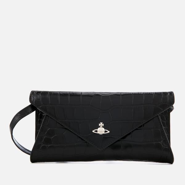 Vivienne Westwood Women's Lisa Envelope Clutch Bag - Black