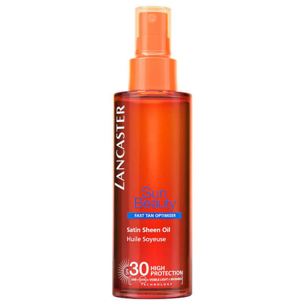 Lancaster Sun Beauty Satin Sheen Oil Fast Tan Optimiser Body SPF30 150ml