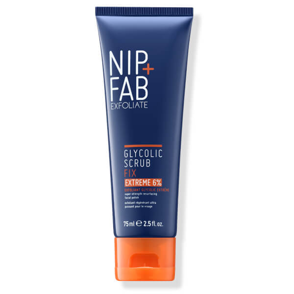 NIP + FAB Glycolic Fix Extreme Scrub 6% 75ml