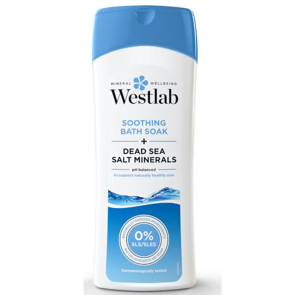 Westlab Soothing Bath Soak with Pure Dead Sea Salt Minerals 400ml