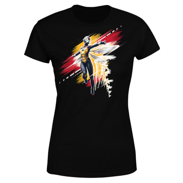 Ant-Man And The Wasp Brushed Women's T-Shirt - Black