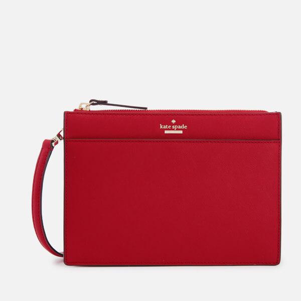 Kate Spade New York Women's Clarise Cross Body Bag - Heirloom Red