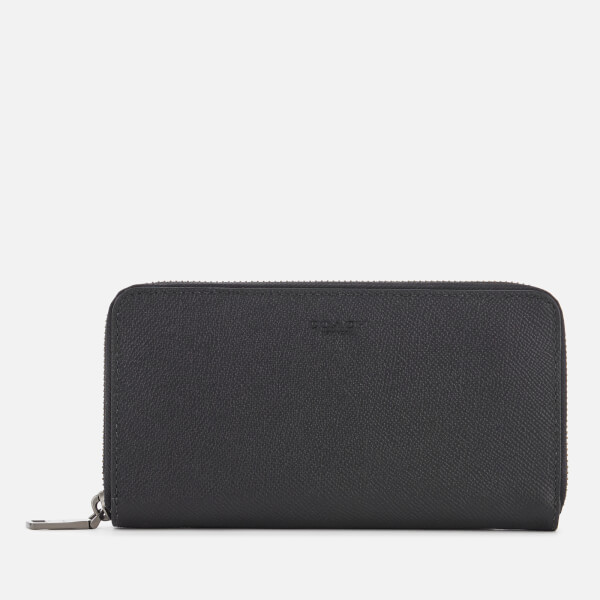 Coach Women's Accordion Grain Wallet - Black