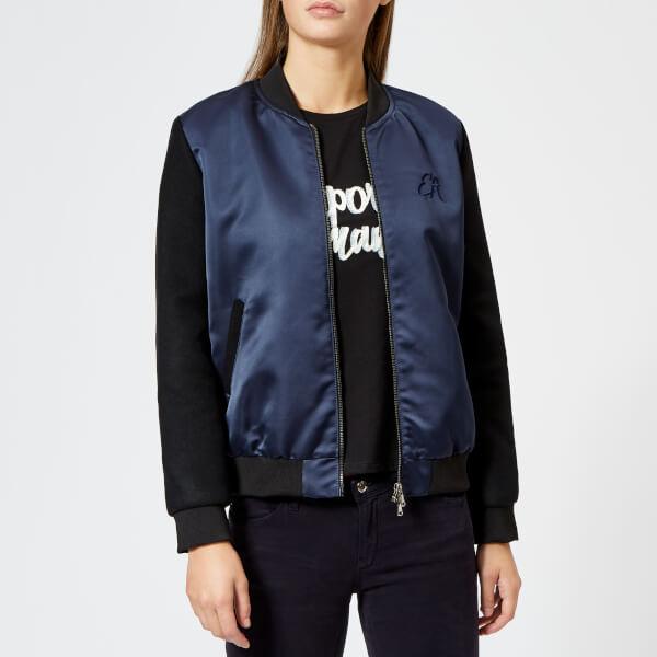 2e18ff8f2f8 Emporio Armani Women s Short Bomber Jacket - Navy Womens Clothing ...