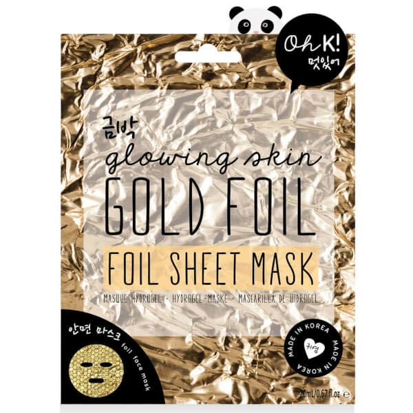 Oh K! Gold Foil Sheet Mask 24ml