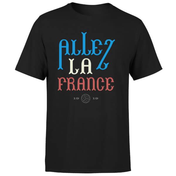 Allez La France Men's T-Shirt - Black