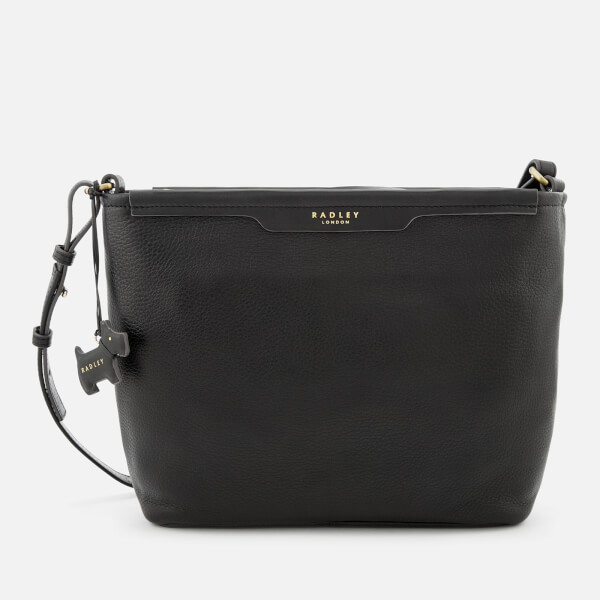 41aa7d183f7d Radley Women s Patcham Palace Medium Cross Body Bag Ziptop - Black  Image 1