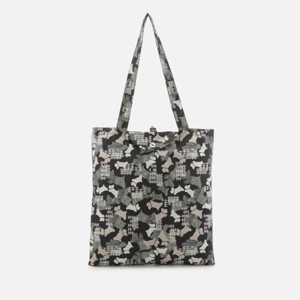 Radley Women's Data Dog Foldaway Tote Bag - Black