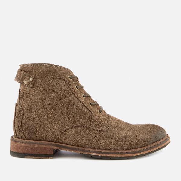 Clarks Men's Clarkdale Bud Suede Lace Up Boots - Khaki
