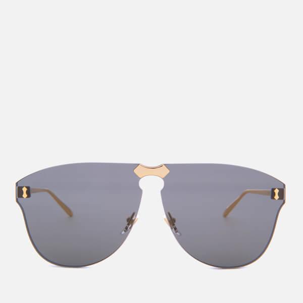 Gucci Metal Frame Sunglasses - Gold/Grey