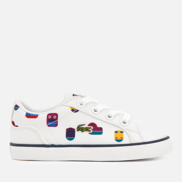 Lacoste Toddler's Lerond 318 5 Trainers - White/White
