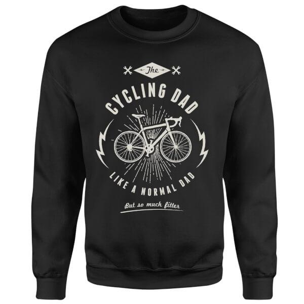 Cycling Dad Sweatshirt - Black