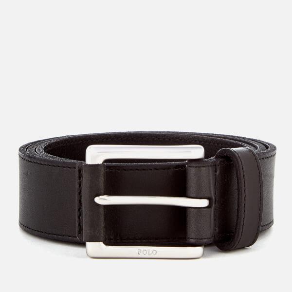 Polo Ralph Lauren Men's Casual Leather Belt - Black
