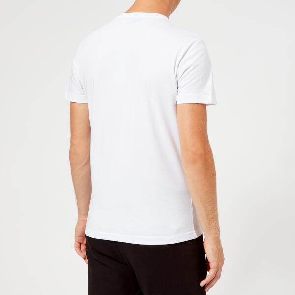 c2efec75daa2 Versace Jeans Men s Gold Logo T-Shirt - White Clothing   TheHut.com