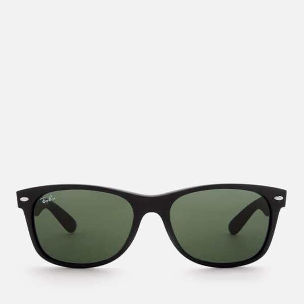 Ray-Ban Men's New Wayfarer Classic Sunglasses - Black Rubber