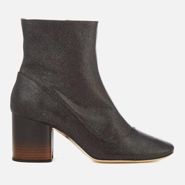 Paul Smith Women's Nira Glitter Heeled Ankle Boots - Black
