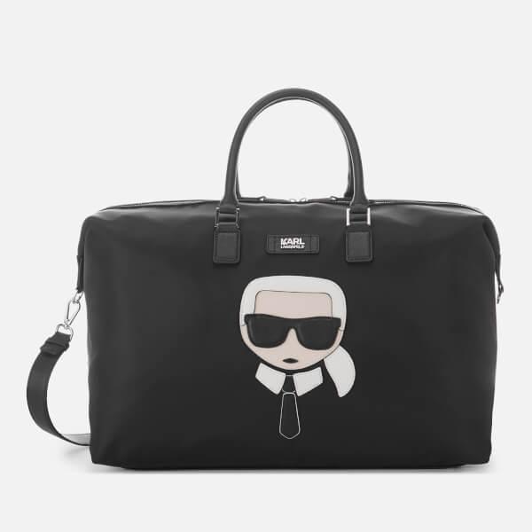 Karl Lagerfeld Women's K/Ikonik Weekender Bag - Black