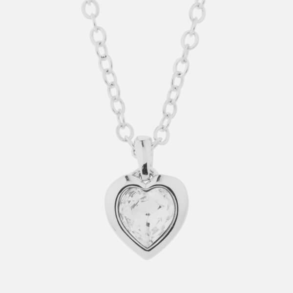 Ted Baker Women's Hannela: Swarovski Crystal Heart Pendant - Silver/Crystal