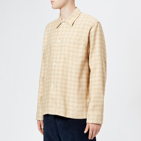 Our Legacy Men's Box Long Sleeve Shirt - Pink