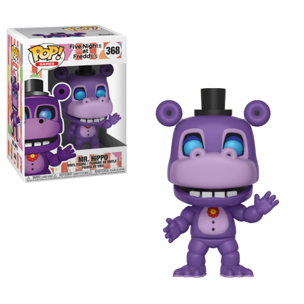Five Nights At Freddy S Pizza Simulator Mr Hippo Pop