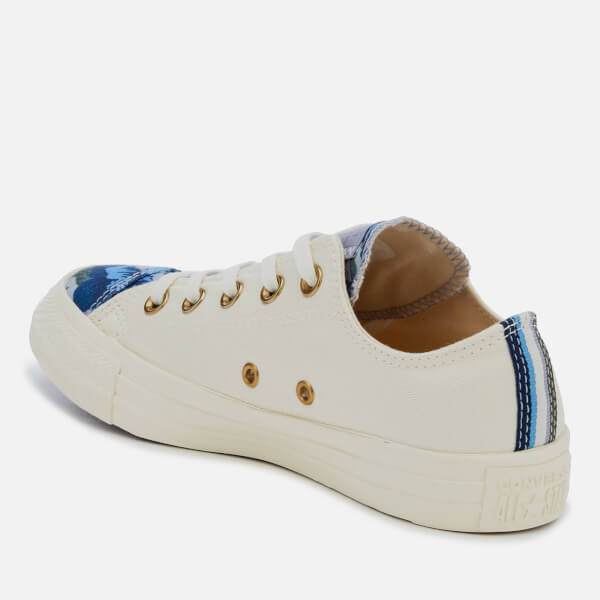 Converse Women s Chuck Taylor All Star Ox Trainers - Egret Provence Purple   Image 2 005cf5491