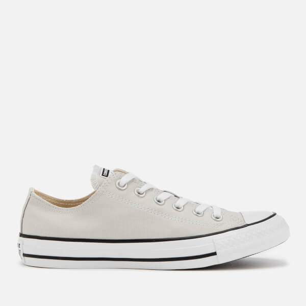 129281dea5bd Converse Chuck Taylor All Star Seasonal Ox Trainers - Mouse Grey  Image 1