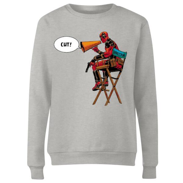 Marvel Deadpool Director Cut Women's Sweatshirt - Grey